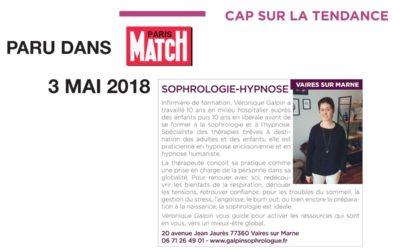Paru dans Paris Match